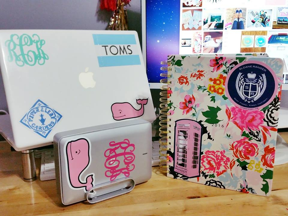 How to Score FREE Preppy Stickers From Your Favorite Brands