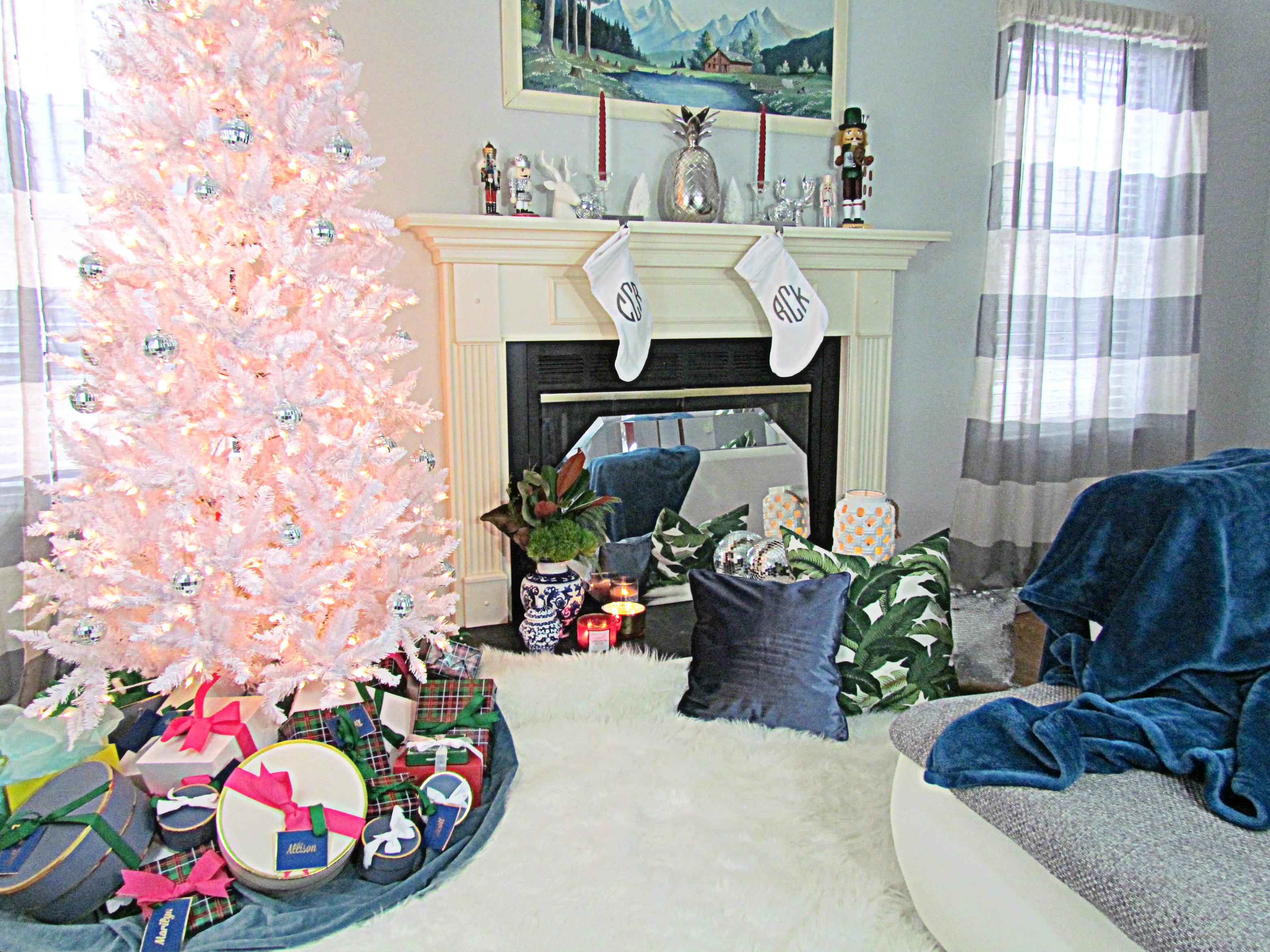 Palm Springs Inspired Christmas Decor