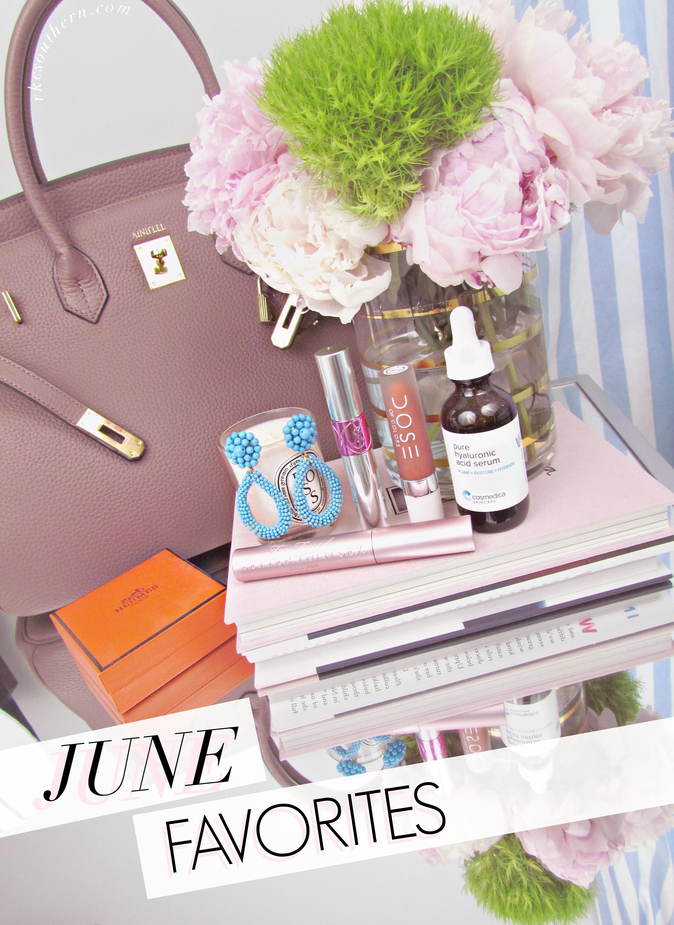 Rachel's June Favorites Round-Up