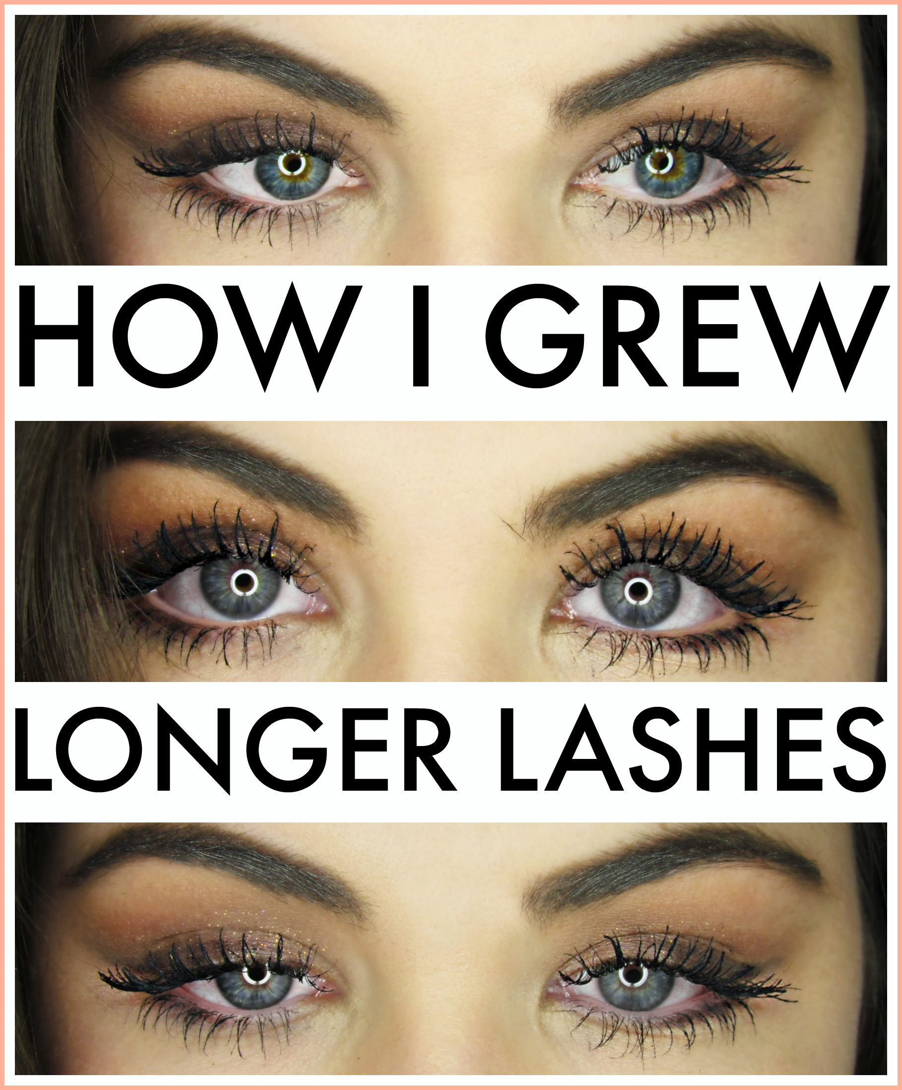 How to grow and maintain, long, thick, healthy lashes!