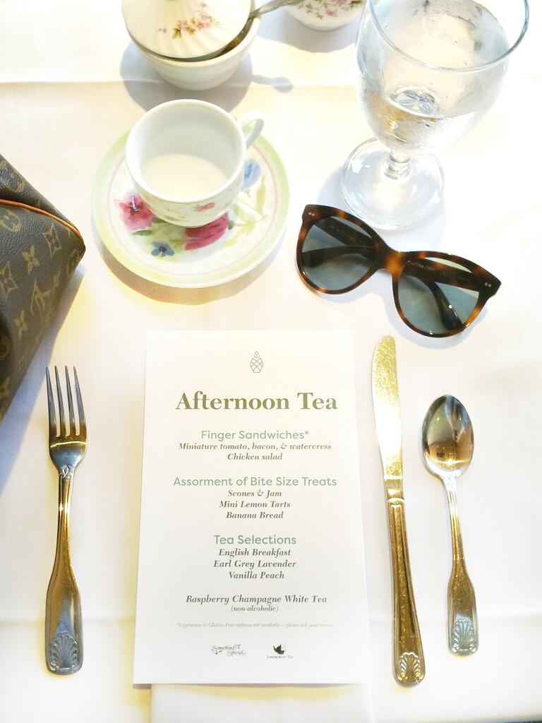 Tea at the Pineapple Room Cheekwood Estate Nashville