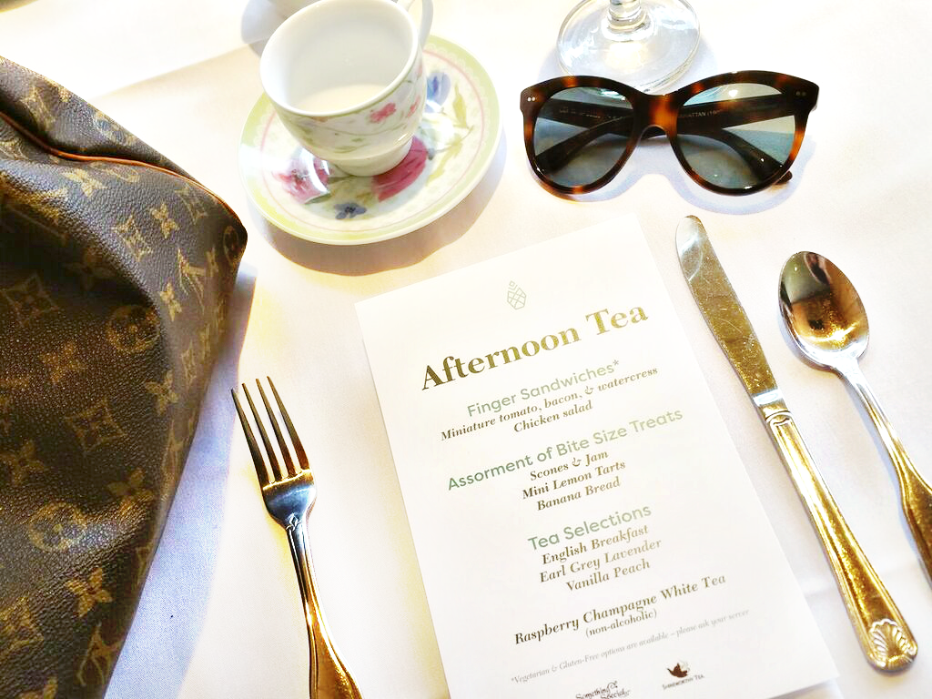 Afternoon Tea at the Pineapple Room