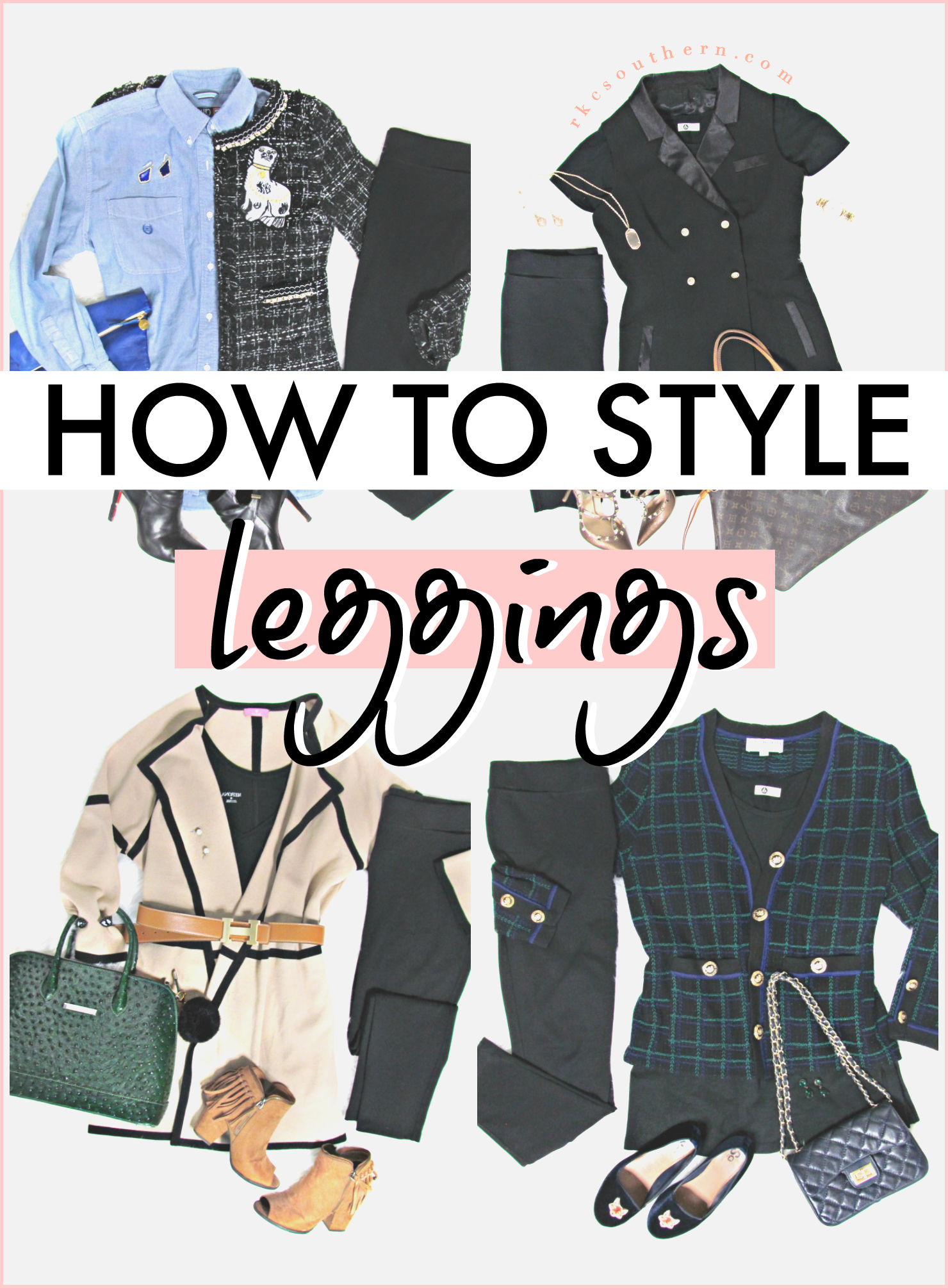 How to Style Leggings for the Office!