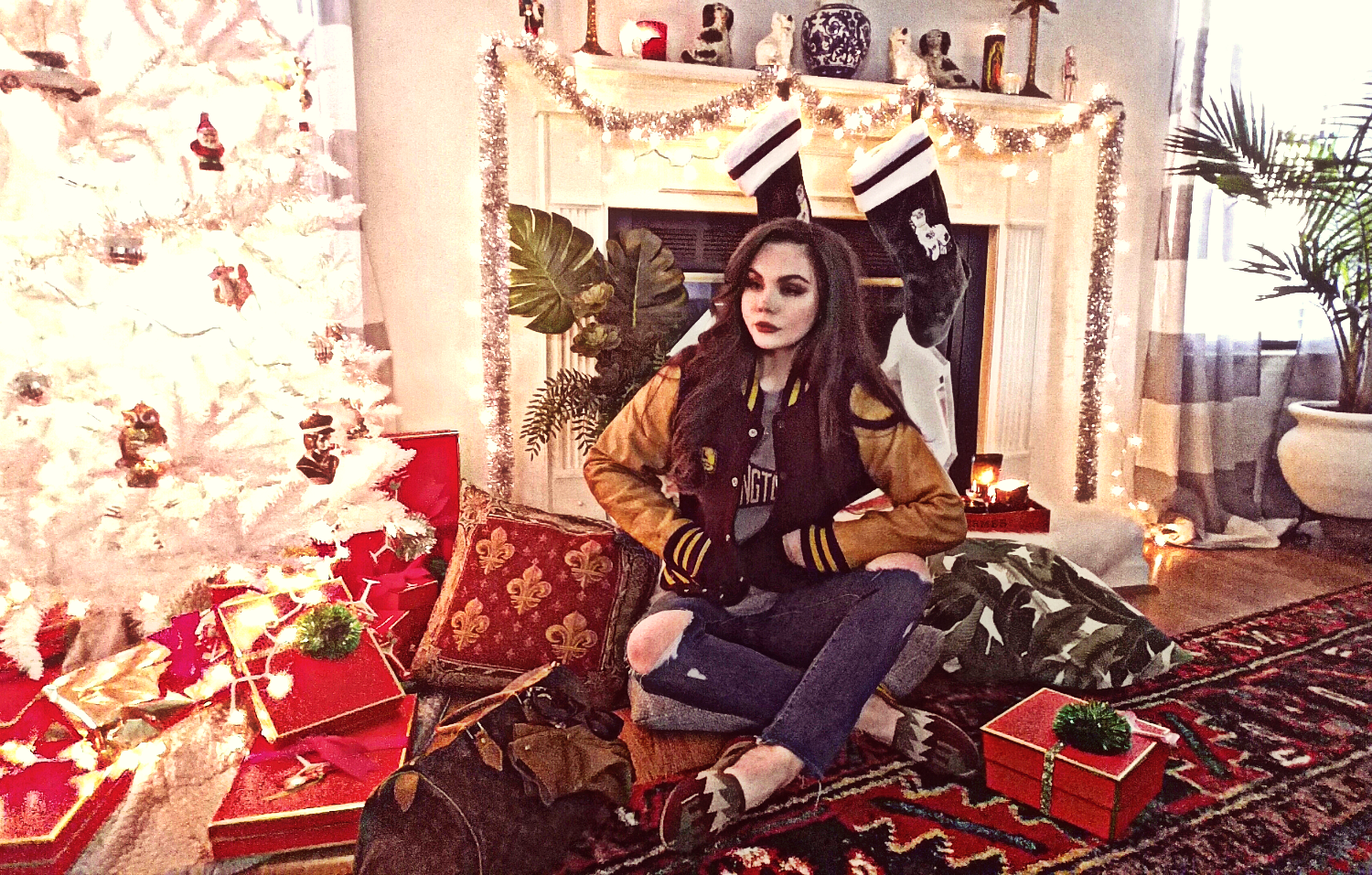 A Very Burroughs Christmas   Wes Anderson Inspired